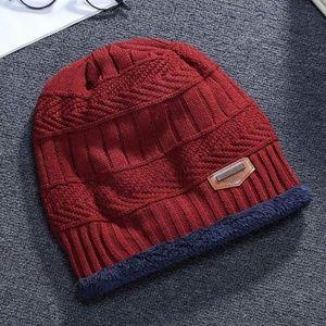Accessories - Winter Knitting Skull Cap Wool Slouchy Beanie Hat